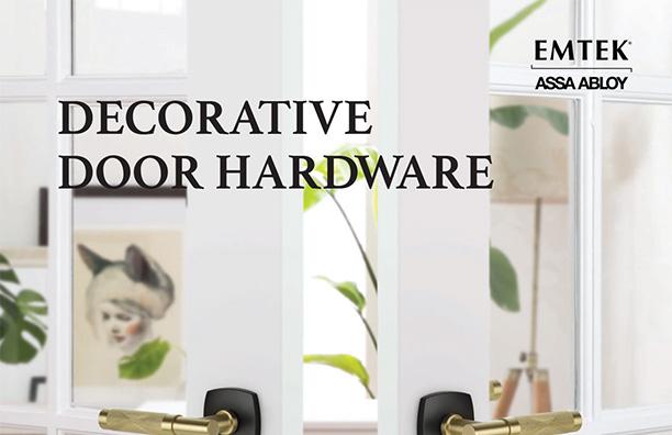 2019 Emtek Decorative Door Hardware