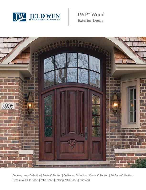 Jeld Wen IWP Wood Exterior Doors