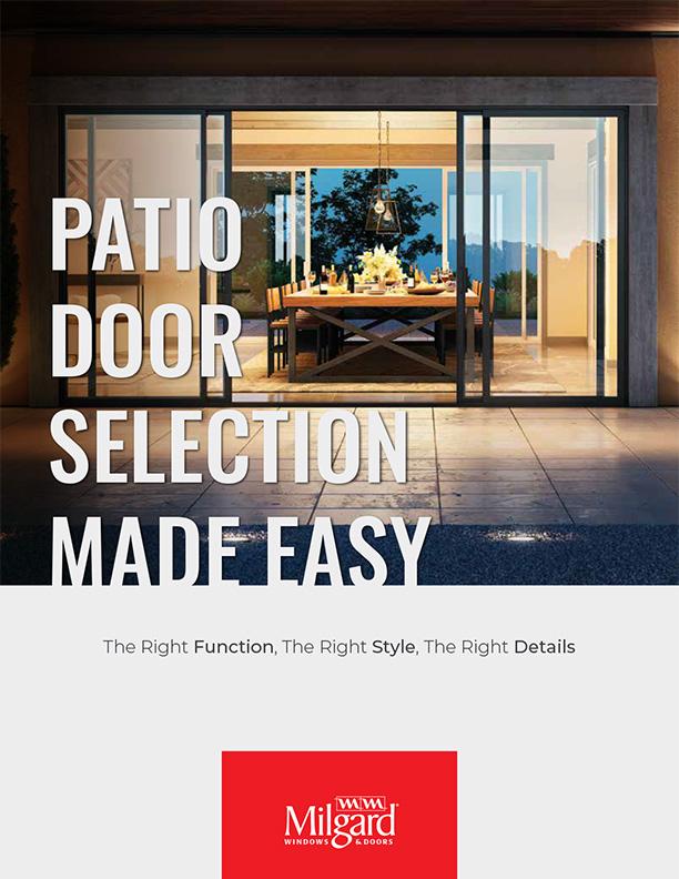 Milgard Door Selection Guide 1