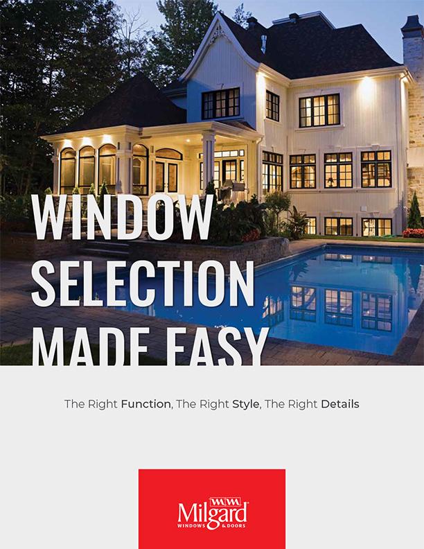 Milgard Window Selection Guide 1