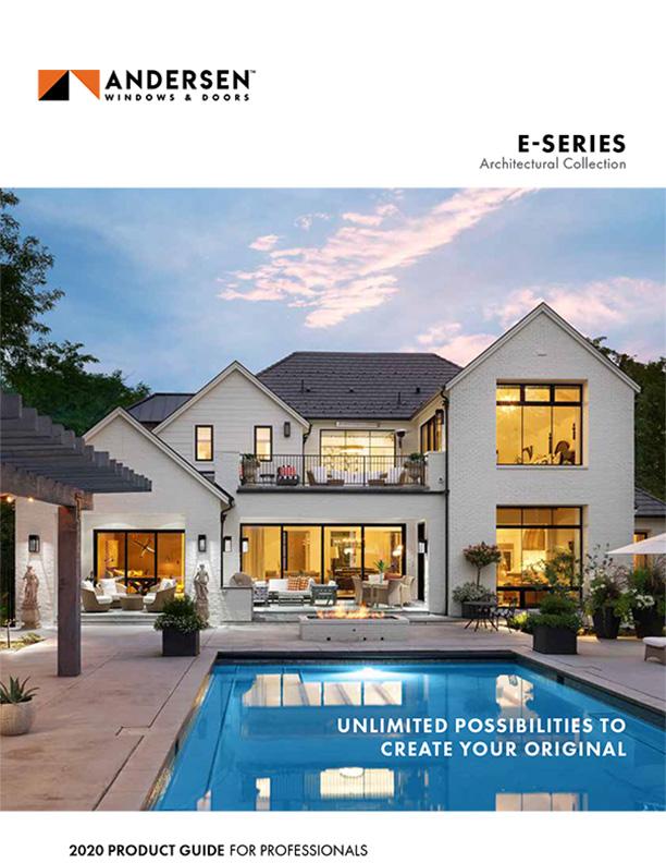 andersen windows E Series Architectural Collection
