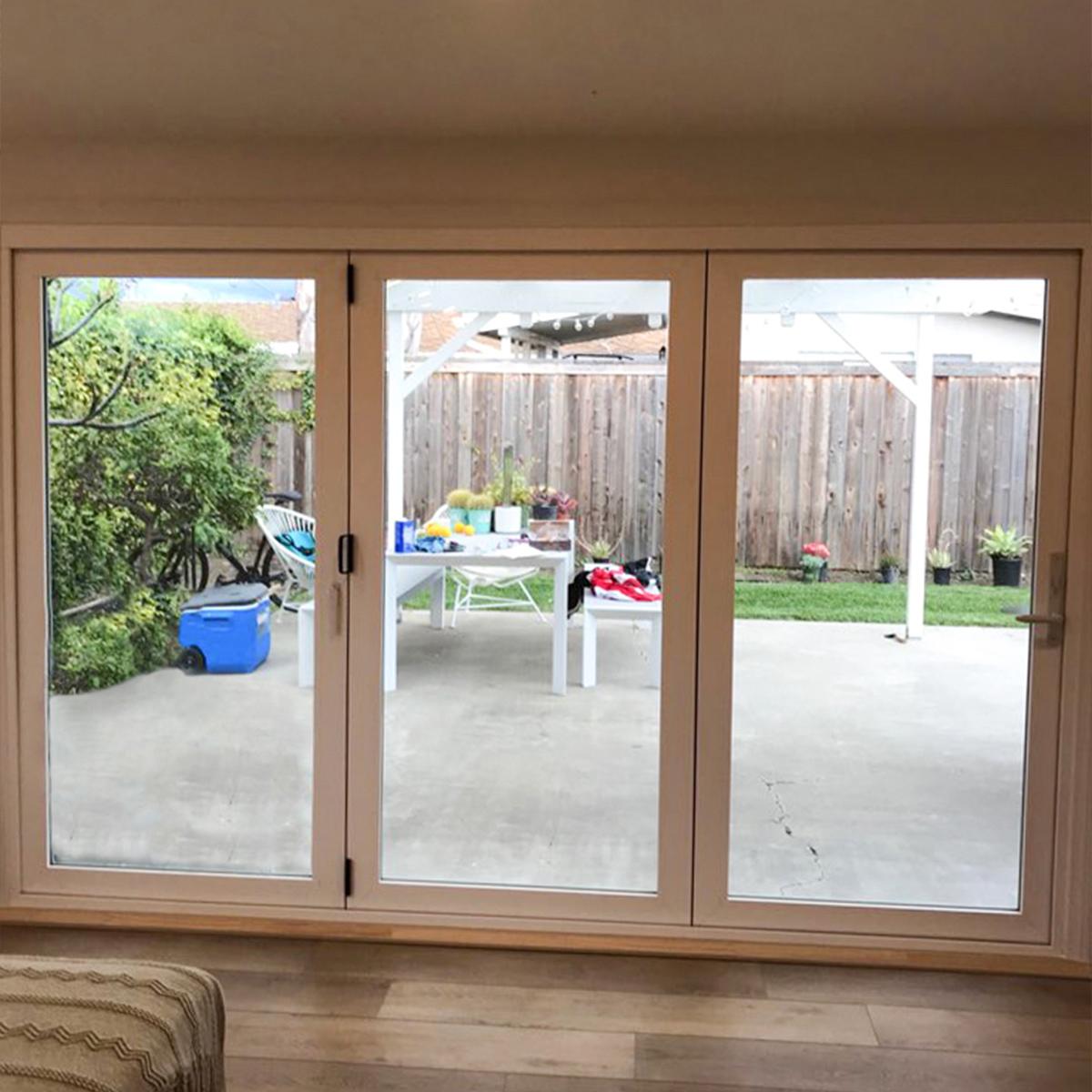 costa mesa folding patio door image interior th