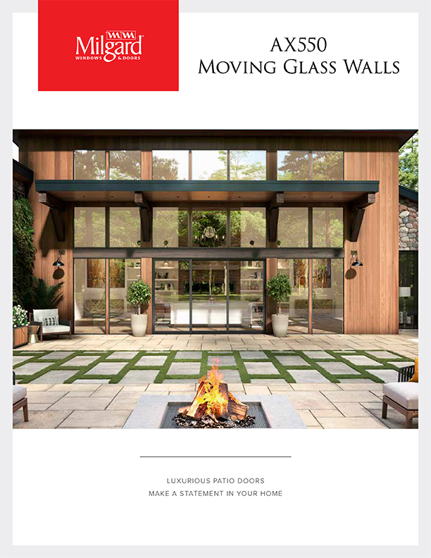 milgard ax550 moving glass walls catalog 1